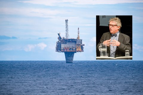 Okea ved administrerende direktør Erik Haugane (innfelt) fra Rana tar over små leteområder fra de store oljeselskapene, som her på Draugenfeltet der de har forlenget utvinningstiden forbi 2040, mens Shell hadde planer om stenge i 2027.