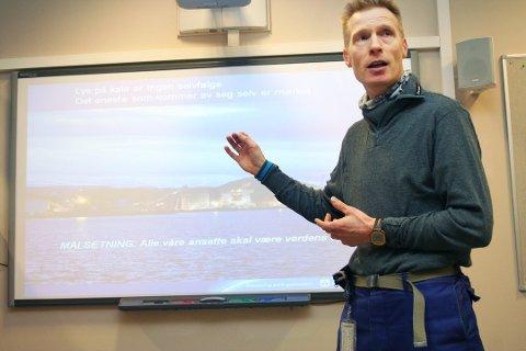 Eivind Mikalsen, konsernsjef i Helgeland Kraft, melder at konsernet så langt i 2019 ligger 135 millioner kroner i pluss.