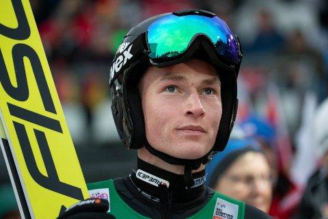 Robin Pedersen er klar for finaleomgangen i Zakopane.  Foto: Geir Olsen / NTB scanpix