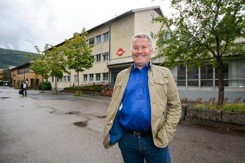 Roger Håkonsen, styreleder i Zar Eiendom, sier de overtok bygget tirsdag 20.august.