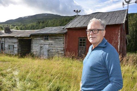 Ola Roald er ny eier av gården på Nabben. Han er arkitekt og synes området er veldig spennende.