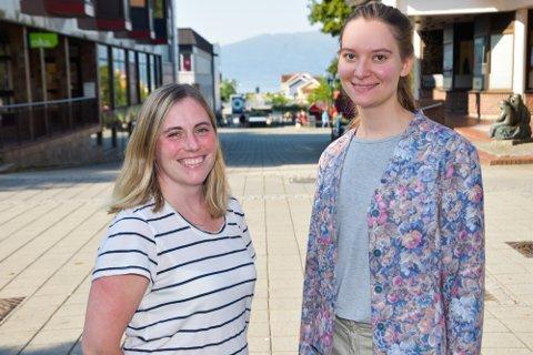 Camilla Sommerseth (t.v.) og Ada Louise Heyerdal Jervell representerer veksten Sintef Helgeland har hatt siden oppstarten for tre år siden. Etter sommeren teller de åtte ansatte.
