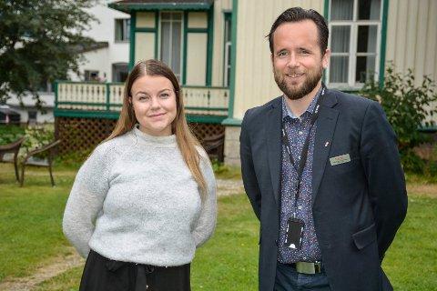 Festivalmedarbeider Ingrid Alte Westman og hotellsjef Ruben Nilsen Robertsen, tilbyr festivalpakker for tredje året på rad.