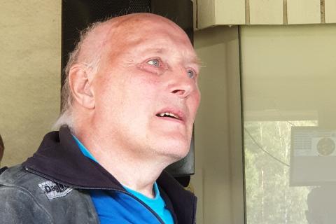 Trond Hjertås fra Dunderlandsdalen skytterlag viser storform under LS, og fikk 30 treff på feltskytinga og er klar for en ny finale.