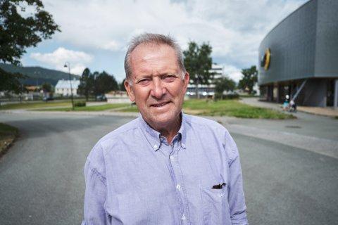 Amfi vil åpne opp mot Sentrumsparken. Det mener Johan Petter Røssvoll (Sp) er en god ide.