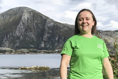 Ordførerkandidat Nina Bentzen i Lurøy Sp.