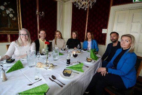 Ressursgruppa jobber med Gallaria og har temaet klart for neste års næringskonferanse. Iren Beathe Teigen (f.v), Cecilie Nordvik, Trine Rimer, Rigmor Nygård Hansen, Majken Hauknes, Rune Devig Andreassen og Pia Olsen.