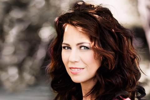 Trine Rein spiller på Kroglia kulturgård lørdag.