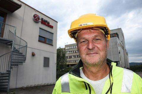 Administrerende direktør Gunnar Moe i Rana Gruber kan se tilbake på et historisk godt første kvartal for bedriften.