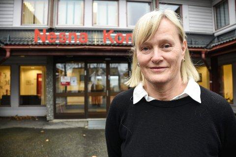 - En folkehøgskole vil passe godt inn hos oss på Nesna, sier Hanne Davidsen, ordfører i Nesna.