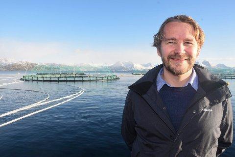 - Det er stas å få heder under «business-Oscar» i USA for vår satsing på merkevaren Kvarøy Arctic. Vi nevnes i sammen med internasjonale selskaper som Nike og IBM, sier daglig leder Alf-Gøran Knutsen i Kvarøy Fiskeoppdrett og Kvarøy Arctic.