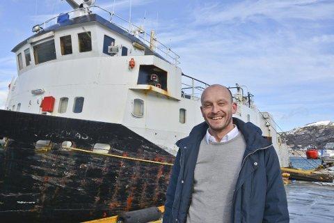 MS Fjordlast skal nå gå helt sør til Sandnessjøen for å erstatte Hurtigruten som bare går fra Bodø og nordover. På bildet er Odd Steinar Åfar Viseth fra Nordland fylkeskommune tatt i en annen sammenheng.