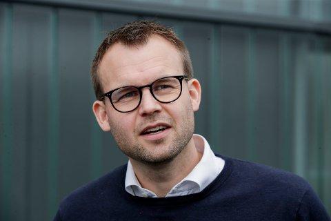 Oslo 20200923.  KrF-leder Kjell Ingolf Ropstad  på Grorud idrettsanlegg. Foto: Vidar Ruud / NTB