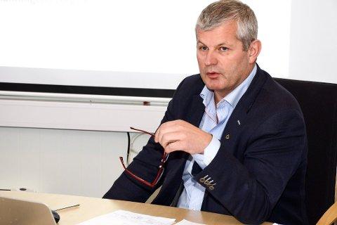 Rådmann Karl-Anton Swensen i Lurøy kommune presenterte budsjett og økonomiplan direkte på nettsiden til Lurøy kommune.
