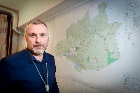 Jan-Terje Strandås er seksjonsleder for byggesaker i Rana kommune. Arkivfoto