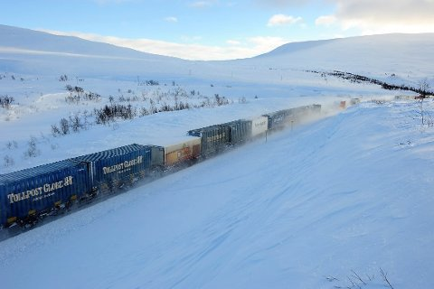 Fra Nordlandsbanen. I slutten av 2022 regner Bane Nor med at banen skal ha nytt, heldigitalt signalsystem.