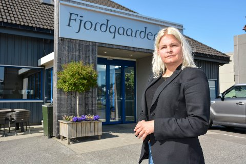 Direktør for Fjordgaarden Hotell, Ida M. Moss