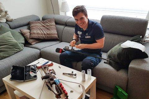 Fredrik Gjesbakk vurderer sterkt å flytte hjem til Mo.
