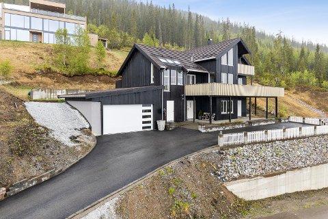 Dette huset ble solgt for 7,5 millioner kroner.