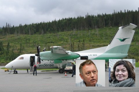 Henrik Johansen og Anita Sollie skulle til Oslo i dag, bare Johansen kommer seg, med en lang omvei.