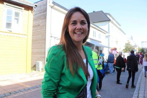 FRAMGANG: Trine Fagervik leder Nordland Sp og er glad for at partiet er det foretrukne partiet for nordlendinger flest.
