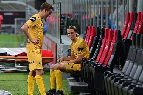 Ulrik Saltnes var skuffet etter kampslutt, men er samtidig stolt over det de helgule fikk til mot AC Milan.