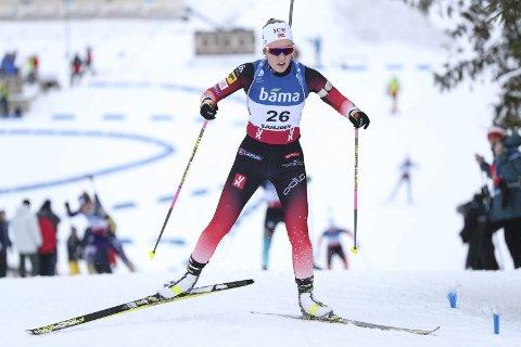 Emilie Ågheim Kalkenberg går tre viktige renn i IBU-cupen denne uka. Gode resultater kan sikre en VM-plass.