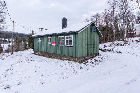 Eneboligen på Drevvatn er den minste i sitt slag til salgs på hele Helgeland.
