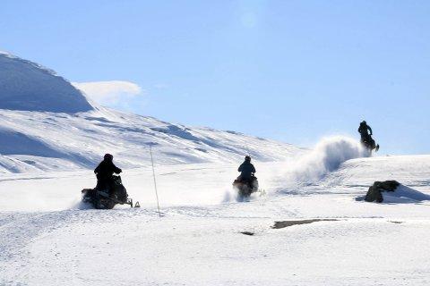 UTFORDRENDE: Statsforvalteren og Nordland fylkeskommune nevner flere problemstillinger i sitt høringssvar til Vefsn kommune angående utvidelse av løypenettet.