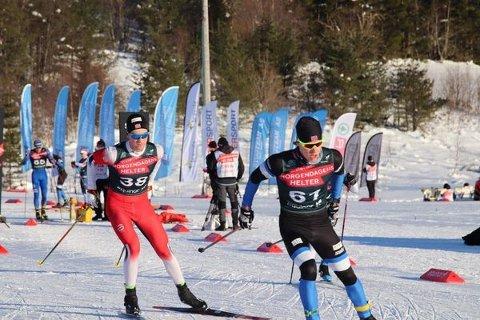 Preben Horven  (t..v.) i aksjon i Lerøy Cup i helga, det som i praksis er norgescupen i langrenn for seniorer.