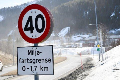 Igjen er det 40-sone gjennom E6 i Svortdalen.