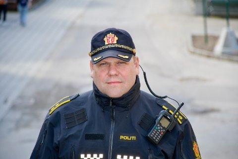Tom Håvar Bogen - politikontakt - leder for forebyggende gruppe ved Mo i Rana politistasjon. Arkivfoto.