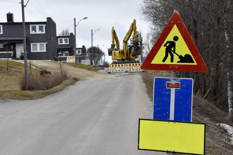 Svalbardgata er midlertidig stengt.