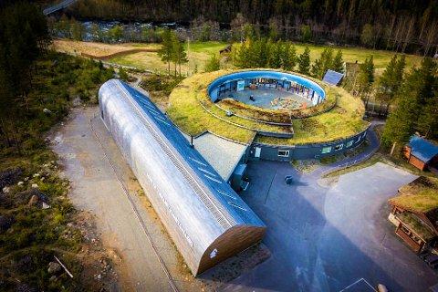 Nordland Nasjonalparksenter i Saltdal åpner dørene for sesongen. Foto: Privat