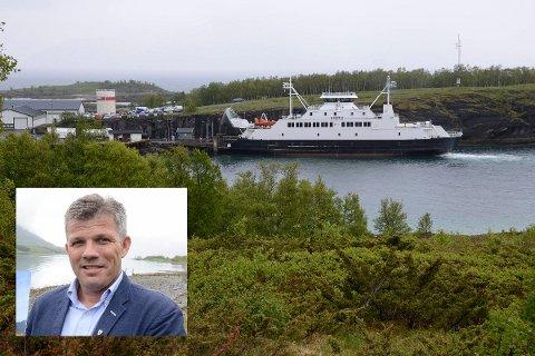 Nestleder i Arbeiderpartiet (Ap),Bjørnar Skjæran ut mot ferjeutspill fra Bård Ludvig Thorheim (H).