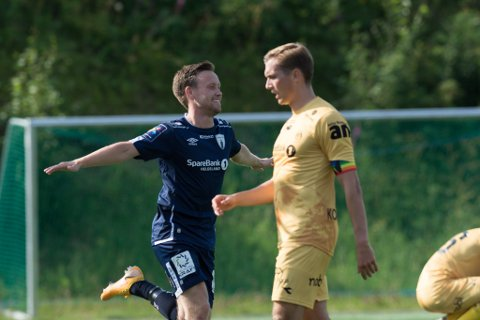 Kim André Råde stod over mot Mjølner lørdag på grunn av en skade  i lysken. I toppkampen mot Ullern lørdag regner han med å være tilbake.