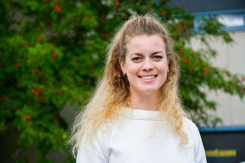 DRØMMEN OM NORD: Synne Wergeland Lindemark (27) ønsket seg nordover da hun ble ferdig med sin master i arkitektur ved NTNU. Nå er hun nyansatt som arkitekt ved Stein Hamre Arkitektkontor AS.