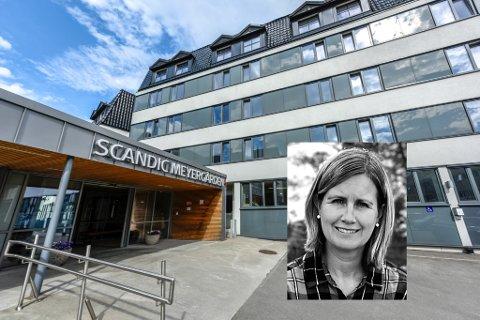 Rachel Trondsen er ikke fornøyd med servicen hun fikk på Scandic Meyergården i helga som var.
