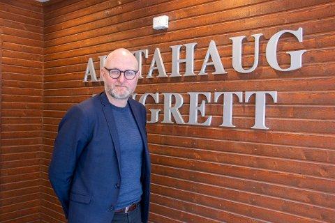 FORNØYD: Rolf Selfors, sorenskriver for Helgeland tingrett, mener nye lokaler vil styrke rettsstedets posisjon i lokalsamfunnet.