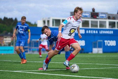 MÅLSCORER: Adrian Olsen Teigen. Her fra en tidligere anledning. Foto: Johan Arnt Nesgård
