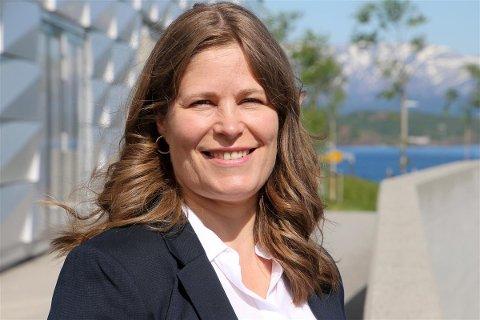 Fylkesråd Linda Helen Haukland.