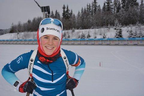Sigrid Bilstad Neraasen ble  torsdag nummer sju i tyske Arber.
