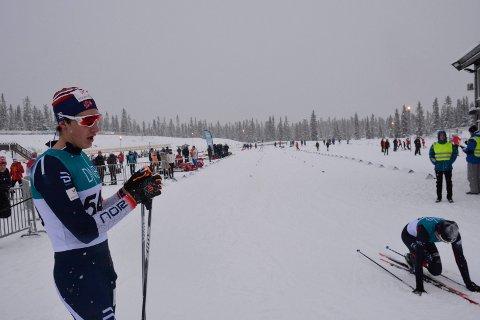 Håvard Hovde fra Mjøsski leverte en god søknad om plass til Junior-VM i langrenn. Han ble nummer fire på søndagens mønstringsrenn.