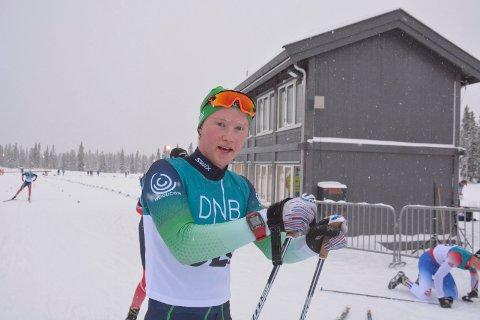 God skiskytter: Even Mangset skjøt full hus på fellesstarten i NM.