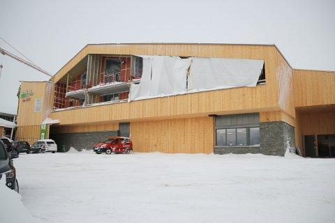 Nye Graaten på Sjusjøen skal bli enda større og huse Kiwi, sportsbutikk, leiligheter og spisested.