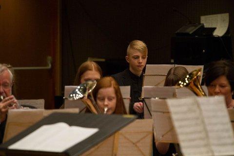 Unge musikere i Lismarka Mesnali brass Foto: Norges Musikkorps Forbund
