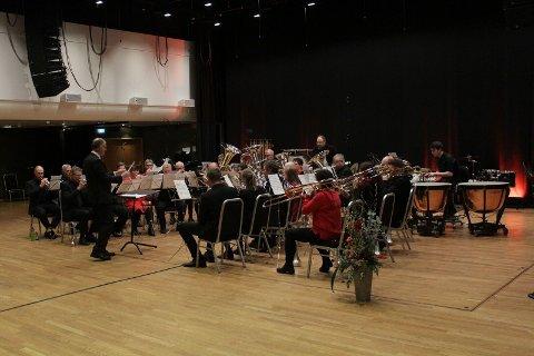 Nes Musikkforening ble nummer fem i 3. divisjon i årets NM. Veldig bra etter opprykket fra 4. divisjon i fjor. Foto: Norges Musikkorps Forbund