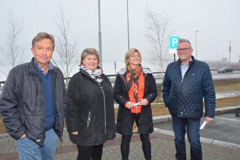 Tore Hagebakken, Anita Ihle Steen, Lise Svenkerud og Johan Aas