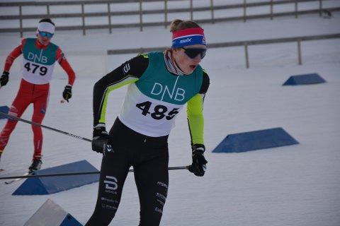 Jonas Vika fra Brumunddal ble nummer fire påp søndagens NC-finale i Alta.