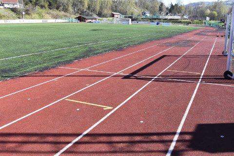 Ingen treninger: Veldre Friidrett vil ikke organisere friidrettstreninger for barn og unge på Sveum i sommer. Foto: Thomas Strandby